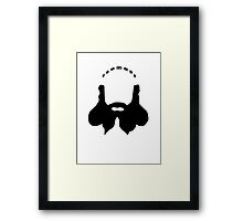 Dwalin's Beard Framed Print