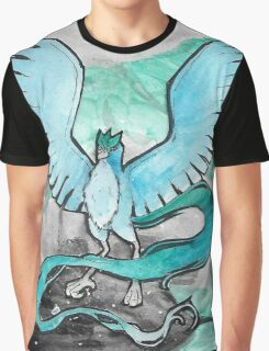 Articuno in Space Graphic T-Shirt