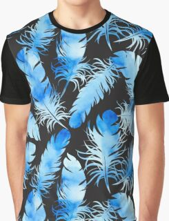 - Blue feathers II - Graphic T-Shirt
