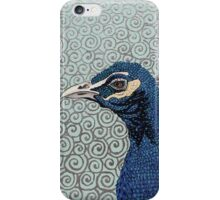 As Proud As A Peacock iPhone Case/Skin