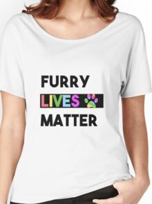 FURRY Lives Matter - Activist Civil Rights  Women's Relaxed Fit T-Shirt