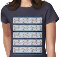 dragonfly among the stars pattern Womens Fitted T-Shirt