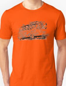 happy trash car Unisex T-Shirt