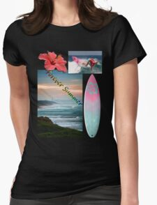 Forever Summer 5 Womens Fitted T-Shirt