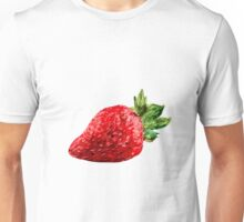 Oil Pastel Strawberry Unisex T-Shirt