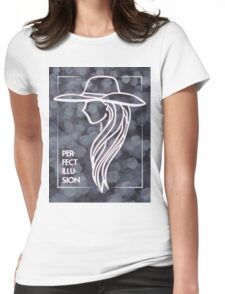 Perfect Illusion Womens Fitted T-Shirt