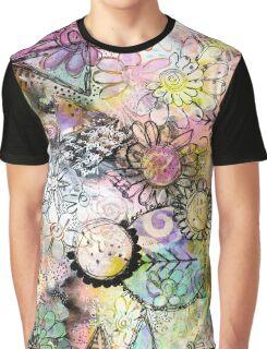 Whimsical Garden Graphic T-Shirt