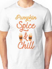 Pumpkin Spice & Chill Unisex T-Shirt