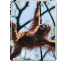 funny monkey iPad Case/Skin