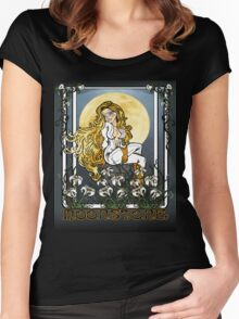 Moonstone Nouveau Women's Fitted Scoop T-Shirt