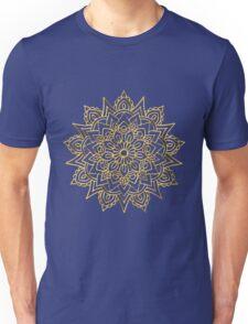 Golden Mandala Unisex T-Shirt