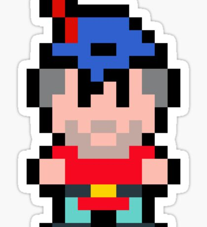 Pixel King Graham Sticker