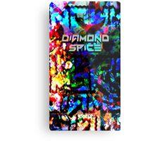 Diamond Destruction Metal Print