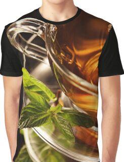 Mint Tea Graphic T-Shirt