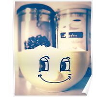 Sugar Smile with Coffee III Poster