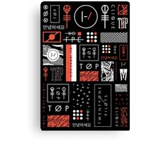 Icons For Teenagers Canvas Print