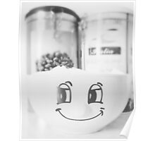 Sugar Smile with Coffee II Poster