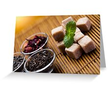Sugar Tea Greeting Card