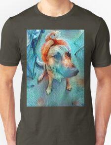 Gogh Truck Gogh  Unisex T-Shirt