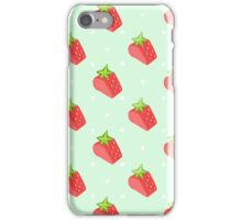 strawberry love iPhone Case/Skin