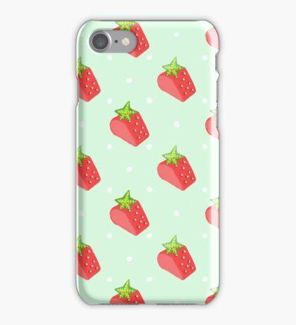 strawberry love iPhone Case/Skin