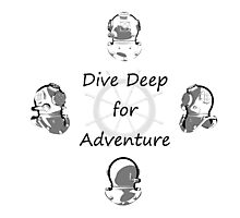 Diving Adventure Photographic Print