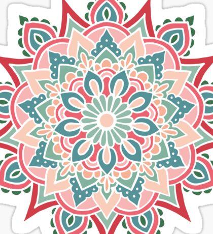 Mandala color 2 Sticker