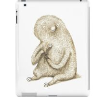 Sloth With Flower iPad Case/Skin