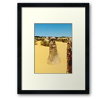 Trapped in Stone Framed Print