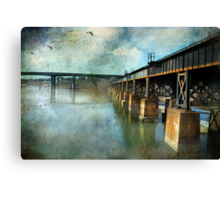 Intersecting Canvas Print