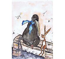 THE HARE & THE CROW Photographic Print