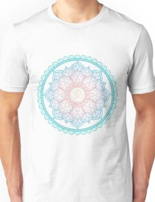 Lotus Om Mandala Illustration Unisex T-Shirt