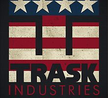 Trask Industries - Vintage Flag by BGWdesigns
