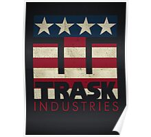 Trask Industries - Vintage Flag Poster