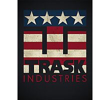 Trask Industries - Vintage Flag Photographic Print