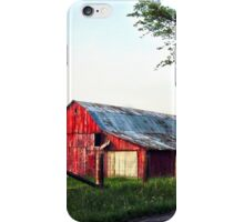 Red Barns iPhone Case/Skin