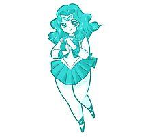 Chibi Sailor Neptune v2 Photographic Print