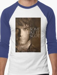 Jamie Fraser Outlander Cover Men's Baseball ¾ T-Shirt