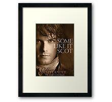Jamie Fraser Outlander Cover Framed Print