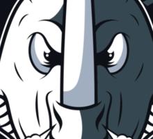 DK Island Rhinos Sticker