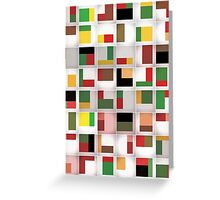 Tetris Maze Greeting Card