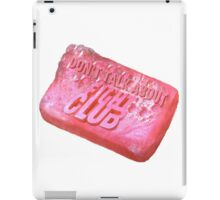 First rule of fight club iPad Case/Skin