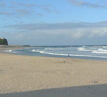 Nobbys Beach Newcastle by ozscottgeorge