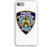 NYPD Logo iPhone Case/Skin