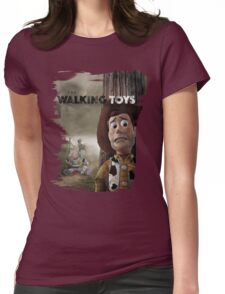 The Walking Toys Womens Fitted T-Shirt