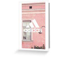 Adidas Pink Greeting Card
