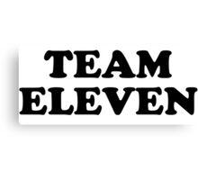 Team Eleven Canvas Print