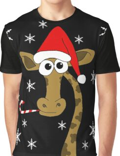 Christmas giraffe Graphic T-Shirt