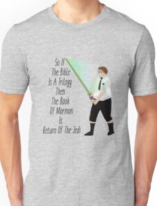 Elder Cunningham The Jedi- Book Of Mormon Unisex T-Shirt