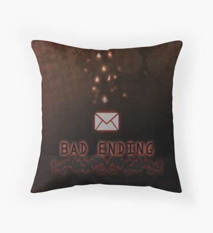 Bad Ending | Mystic Messenger Throw Pillow